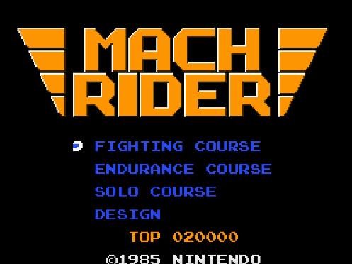 #383 – Mach Rider